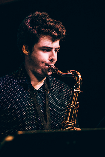 Chris Casaceli playing Sax