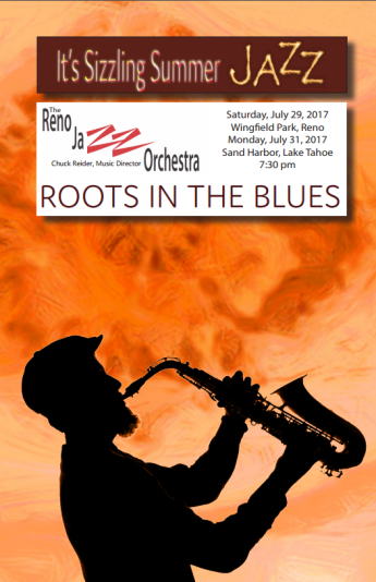 Roots in the Blues Program Front Page