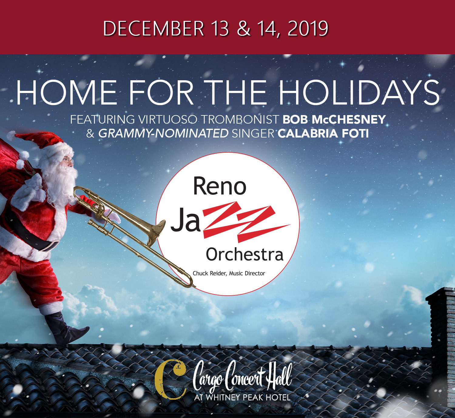 Home For The HolidaysHome For The Holidays with the Reno Jazz Orchestra