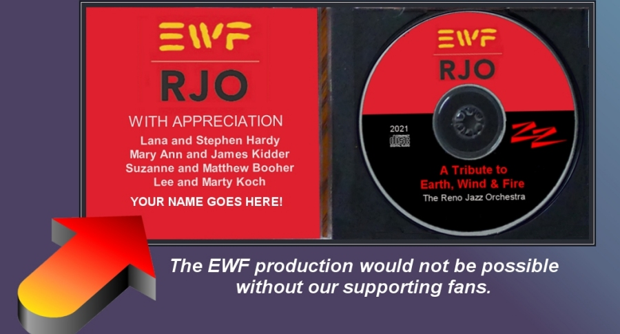 RJO Earth, Wind, and Fire Tribute CD Project